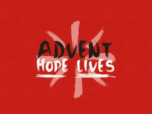 Advent Graphic White Hope