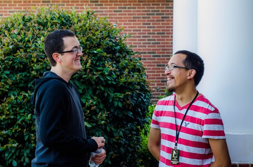 """There are answers"": To Christians in a college setting"