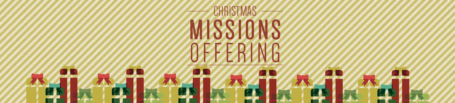 Invest in the Mission of God this Christmas