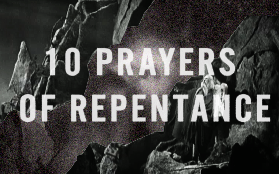 10 Prayers of Repentance